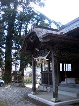 神山温泉の神社(3)