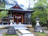 鶴仙渓 東山神社