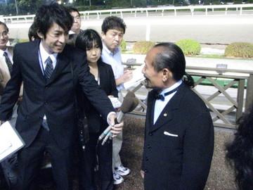 川島正行調教師