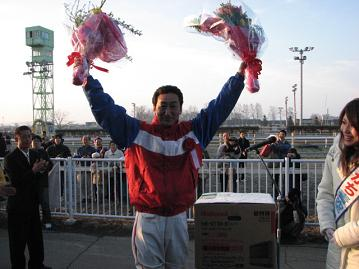 優勝騎手・坂本東一