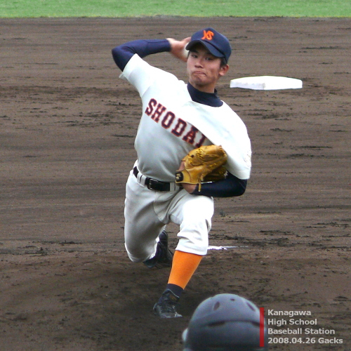 横浜商大・齋田章吾投手