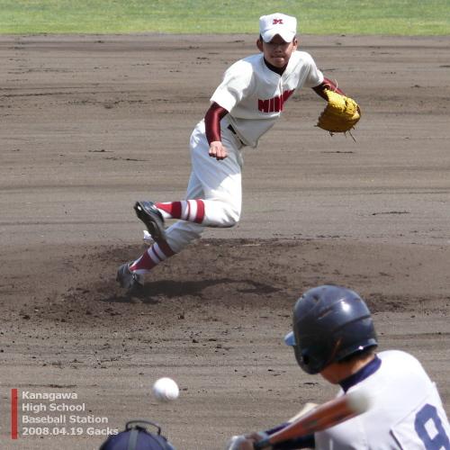 南高校・石井生馬投手
