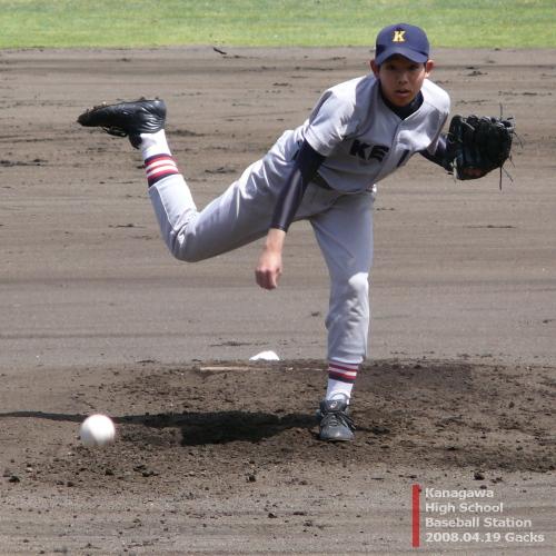 慶応藤沢・花田礼投手