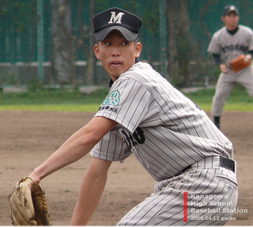 横浜緑ヶ丘高校・佐野泰次郎投手
