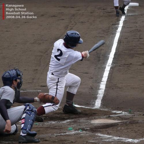 08春 4回戦 慶應義塾vs桐光学園