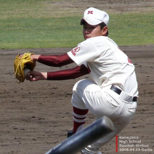 南高校・石井生馬投手(1)