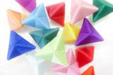 色がえらべる三角こまセット
