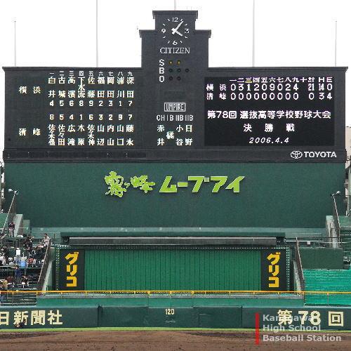 第78回選抜高校野球大会 決勝戦