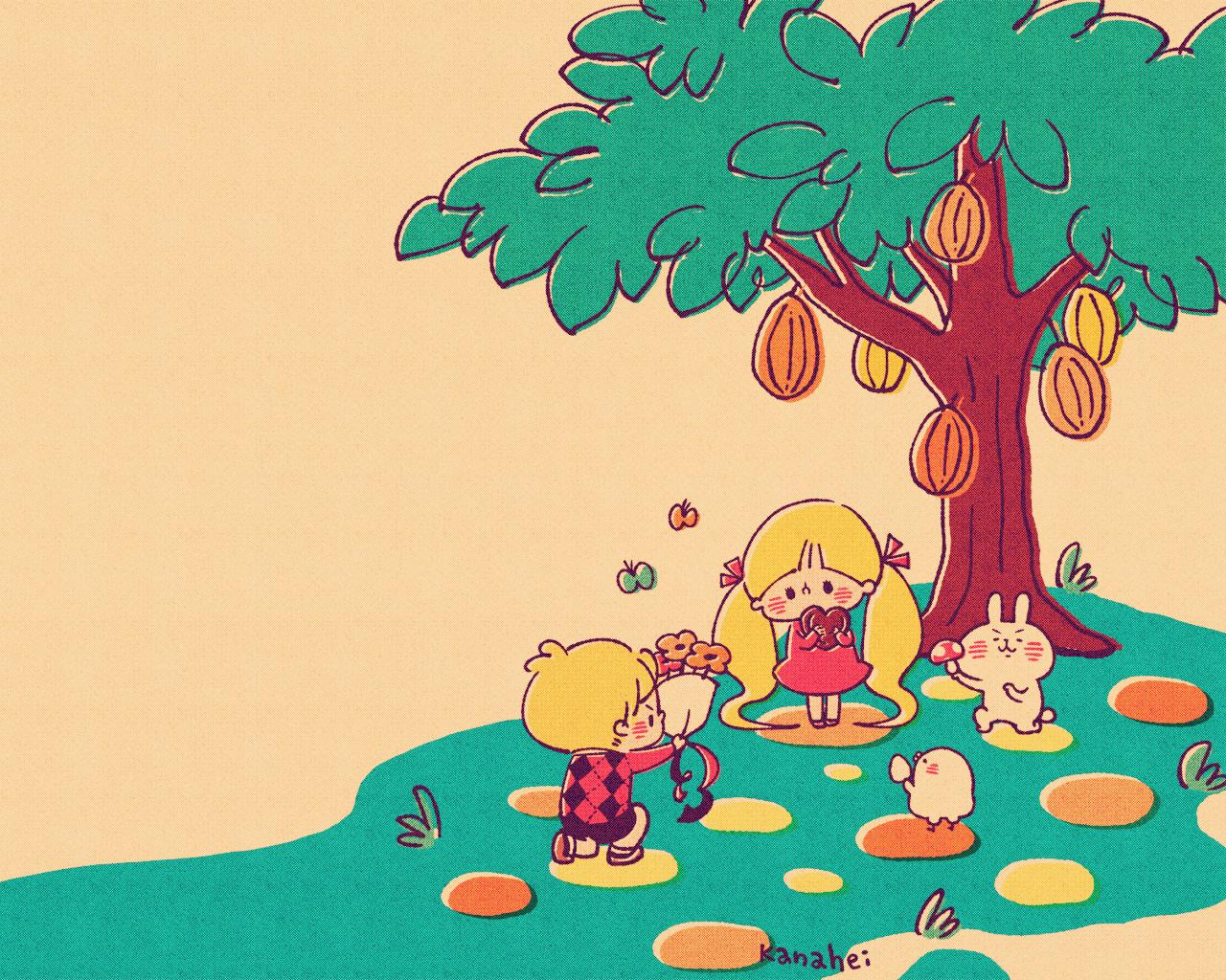 カナヘイ木の下で告白