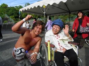 小野塚さんしらかし園プロレス 026
