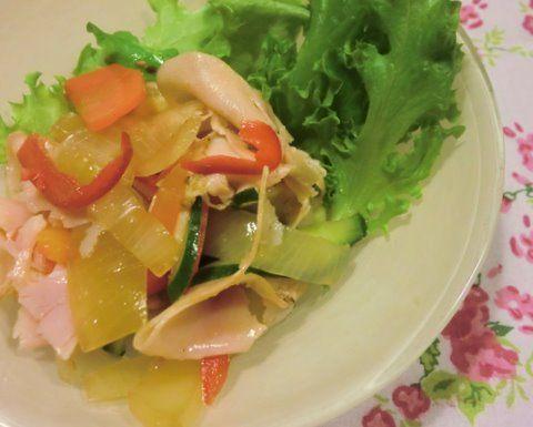 茹で野菜のマリネ