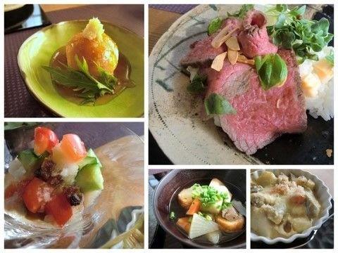 2012・1月基本クラス牛タタキの洋風寿司