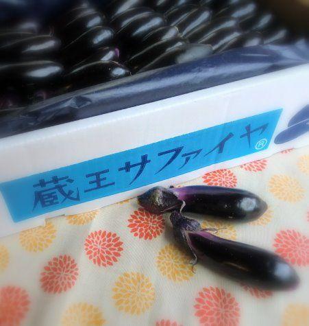 蔵王サファイヤ茄子1