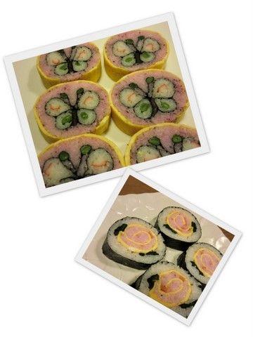 2012今日の飾り巻き寿司