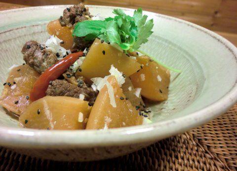 牛肉と大根の煮物2
