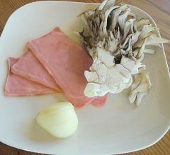 ベーコンと舞茸の炊きこみピラフ1-1