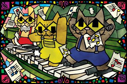 「ピアノの練習」