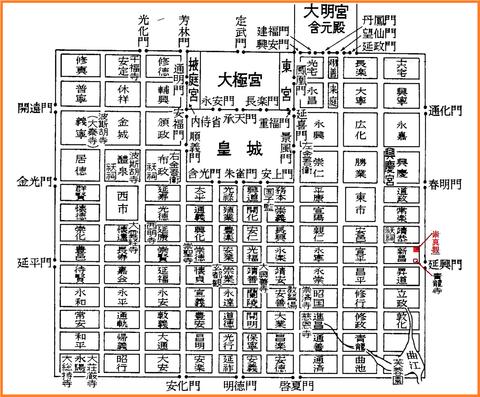 長安城の図01
