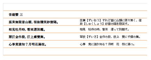 菩薩蠻(3)