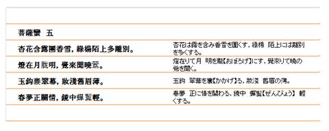 菩薩蠻(5)