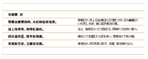 菩薩蠻(4)