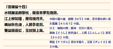 菩薩蠻0(14)