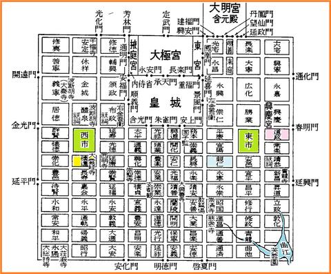 10risho長安城の図