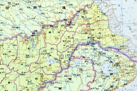 楚州揚州廬州壽州 地図01