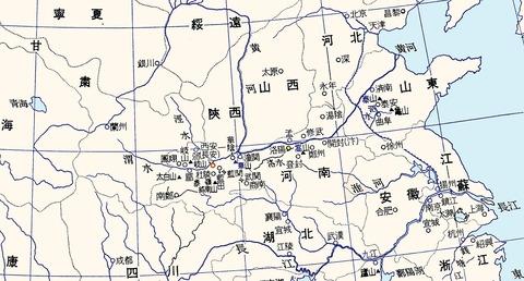 韓愈地図1000