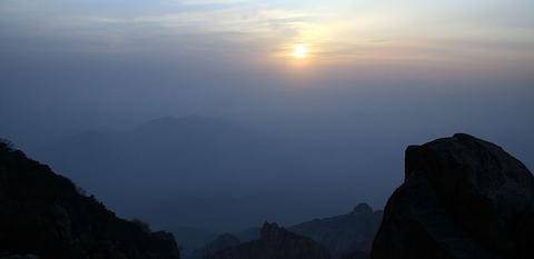 泰山の夕日02