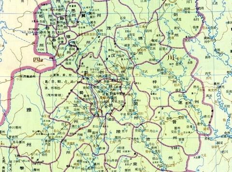 唐時代剣南道北部075