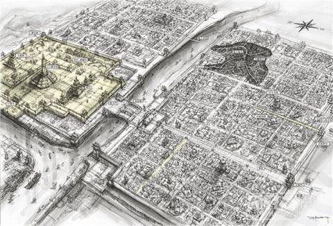 洛陽城 絵図01