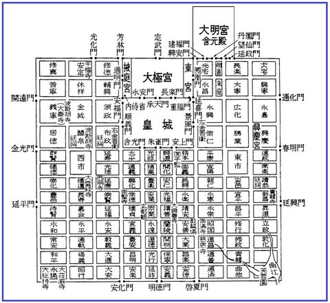 00長安城の図