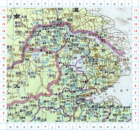 太湖上海地図