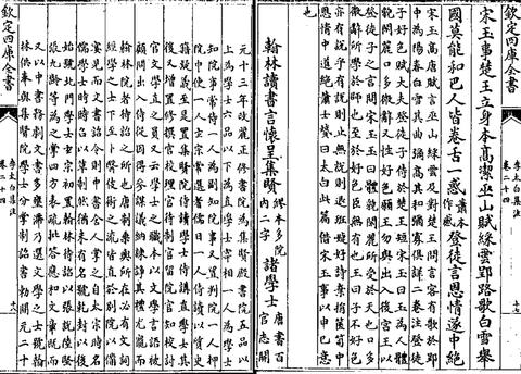翰林讀書言懷呈集賢諸學士(1)