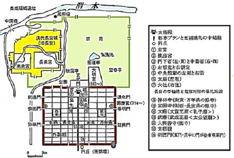 王都の位置と基準線 03