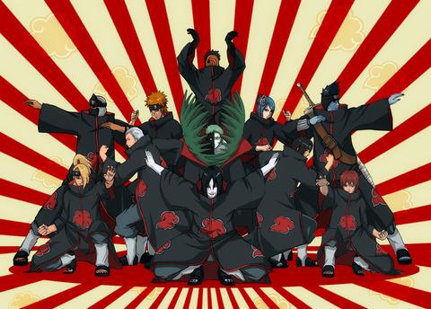 Naruto-画像-暁-1