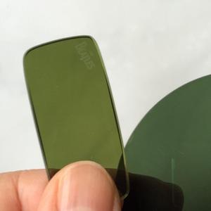 グリーンスモークレンズ色比較2