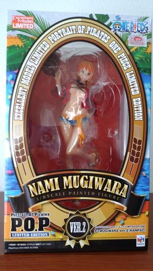 One Piece Portrait Of Pirates Limited Edition Nami Mugiwara Ver.2 Kanpai figure