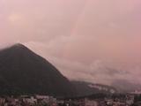 肉まん山&虹