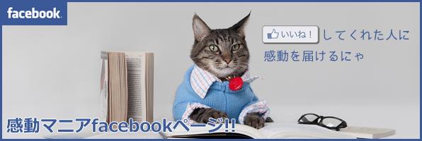 感動マニアfacebook公式ページ