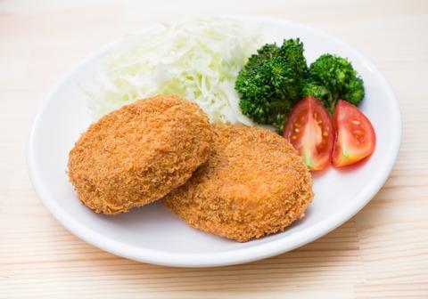 20171015コロッケ定食