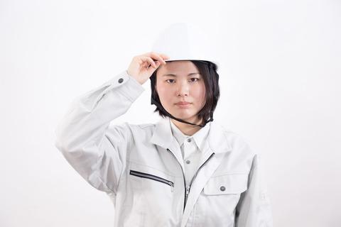 20180828ヘルメットの女性