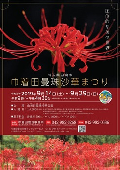 巾着田曼珠沙華祭り2019-001