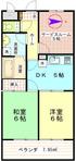 ジョイム毛呂402_平面図