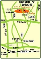 熊谷ドーム地図