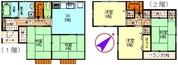 東毛呂9分_ゆずの木台団地貸家_平面図