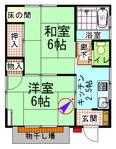 滝ノ入貸家_平面図