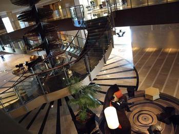 spiral stairway!