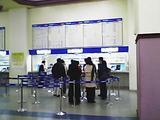 トンテグ駅(切符売り場)